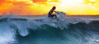 Surf die Krise